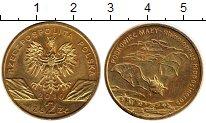 Изображение Монеты Европа Польша 2 злотых 2010 Латунь UNC