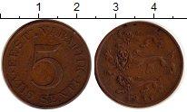 Изображение Монеты Эстония 5 сенти 1931 Медь XF