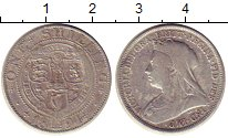 Изображение Монеты Великобритания 1 шиллинг 1894 Серебро XF