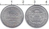 Изображение Монеты Гамбург 1/100 марки 1923 Алюминий XF-