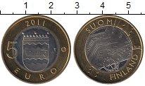 Изображение Монеты Финляндия 5 евро 2011 Биметалл UNC