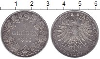 Изображение Монеты Франкфурт 1 гульден 1846 Серебро XF-