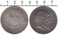 Изображение Монеты Баден 5 марок 1907 Серебро XF+