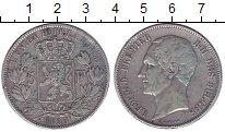 Изображение Монеты Европа Бельгия 5 франков 1853 Серебро XF