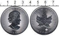 Изображение Монеты Северная Америка Канада 5 долларов 2017 Серебро UNC