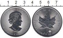 Изображение Монеты Северная Америка Канада 5 долларов 2017 Серебро UNC-