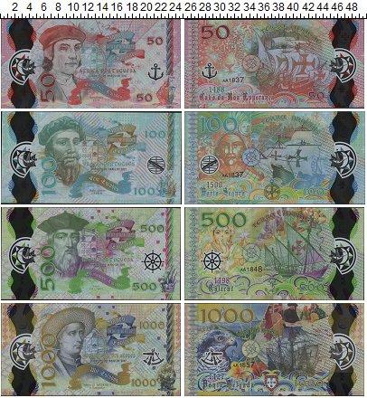Изображение Банкноты Португалия Великие открытия 2017  UNC-