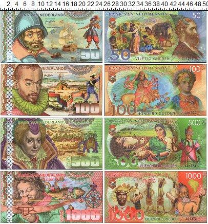 Изображение Банкноты Азия Шри-Ланка Набор из 4 бон 2016  UNC