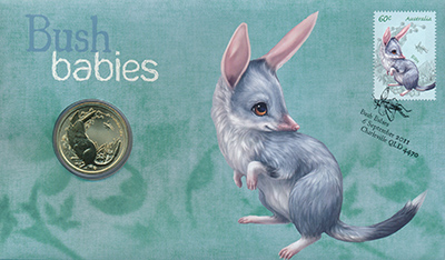 Изображение Подарочные монеты Австралия и Океания Австралия 1 доллар 2011  UNC