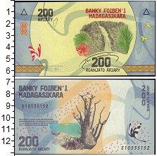 Изображение Банкноты Мадагаскар 200 ариари 2017  UNC