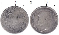 Изображение Монеты Европа Бельгия 50 сантим 1910 Серебро VF
