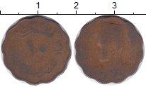 Изображение Монеты Египет 10 миллим 1943 Бронза VF-