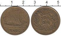 Изображение Монеты Эстония 1 крона 1934 Латунь XF- Ладья
