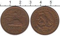 Изображение Монеты Северная Америка Мексика 20 сентаво 1965 Бронза XF