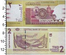 Изображение Банкноты Судан 2 фунта 2011  UNC