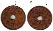 Изображение Монеты Дания 1 эре 1939 Медь XF