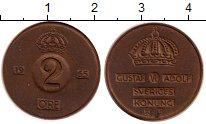 Изображение Монеты Европа Швеция 2 эре 1954 Медь XF