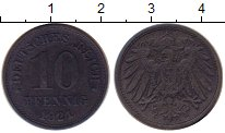 Изображение Монеты Европа Германия 10 пфеннигов 1921 Цинк XF