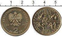 Изображение Монеты Европа Польша 2 злотых 2000 Латунь UNC-