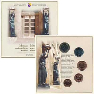 Изображение Подарочные монеты Босния и Герцеговина Босния и Герцеговина 2000 2000  UNC