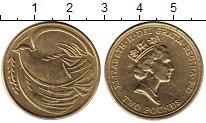 Изображение Мелочь Европа Великобритания 2 фунта 1995 Латунь UNC-