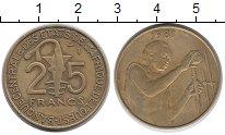 Изображение Монеты Центральная Африка 25 франков 1981 Латунь VF