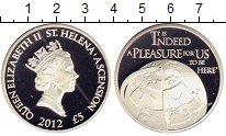 Изображение Монеты Остров Святой Елены 5 фунтов 2012 Серебро Proof