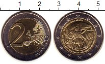 Изображение Мелочь Греция 2 евро 2013 Биметалл UNC