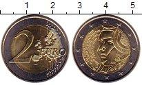 Изображение Монеты Европа Франция 2 евро 2015 Биметалл UNC-