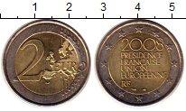 Изображение Монеты Европа Франция 2 евро 2008 Биметалл UNC-