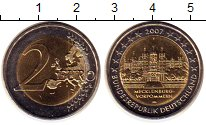 Изображение Монеты Европа Германия 2 евро 2007 Биметалл UNC-