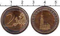 Изображение Монеты Европа Германия 2 евро 2008 Биметалл UNC-