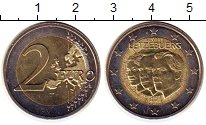 Изображение Монеты Люксембург 2 евро 2011 Биметалл UNC- 50 - летие  назначен