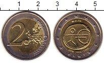 Изображение Монеты Европа Мальта 2 евро 2009 Биметалл UNC-