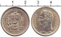 Изображение Монеты Венесуэла 1 боливар 1960 Серебро XF+