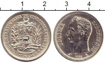 Изображение Монеты Венесуэла 1 боливар 1965 Серебро XF+