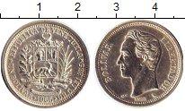 Изображение Монеты Южная Америка Венесуэла 1 боливар 1965 Серебро UNC-