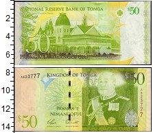 Изображение Банкноты Австралия и Океания Тонга 50 панга 0  UNC-