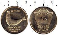 Изображение Мелочь Антарктика - Французские территории 50 франков 2011 Медно-никель UNC-
