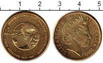 Изображение Монеты Австралия 1 доллар 2010 Латунь UNC-