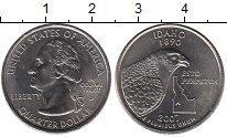 Изображение Мелочь США 1/4 доллара 2007 Медно-никель UNC