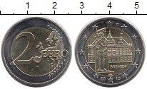 Изображение Монеты Европа Германия 2 евро 2010 Биметалл UNC-
