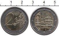 Изображение Монеты Германия 2 евро 2013 Биметалл UNC- Баден-Вюртемберг ,D