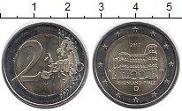 Изображение Монеты Германия 2 евро 2017 Биметалл UNC-