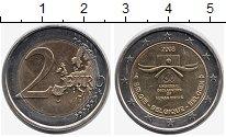 Изображение Монеты Европа Бельгия 2 евро 2008 Биметалл UNC-