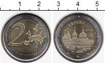 Изображение Монеты Испания 2 евро 2013 Биметалл UNC- Эскориал