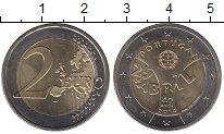 Изображение Монеты Европа Португалия 2 евро 2014 Биметалл UNC-