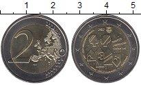 Изображение Монеты Европа Португалия 2 евро 2017 Биметалл UNC-