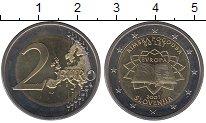 Изображение Монеты Европа Словения 2 евро 2007 Биметалл UNC-