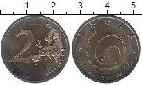 Изображение Монеты Словения 2 евро 2013 Биметалл UNC- 800 лет открытию пещ